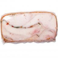 Рулет из мяса птицы «Руляда Деревенская» копчено-вареный, 1 кг., фасовка 0.5-0.7 кг