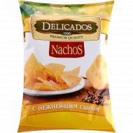 Начос «Delicados» со вкусом сыра, 150 г.