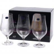 Набор бокалов для пива «Bohemia Crystal» Tulipa optic, 540 мл