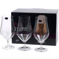 Набор бокалов для пива «Bohemia Crystal» Tulipa, 540 мл