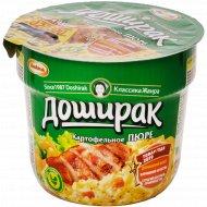 Пюре картофельное «Доширак» со вкусом курицы, 40 г.