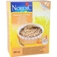 Хлопья ржаные «Nordic» 600 г.