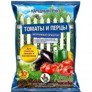 Почвогрунт для томатов и перцев, 10 л.
