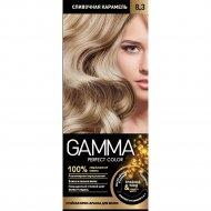 Стойкая крем-краска «Gamma» perfect color, тон 8.3.