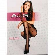 Колготки женские «ArtG Evelyn» 20 den, Nero, размер 2.