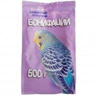 Корм для волнистых попугаев «Бонифаций» основной рацион, 500 г.
