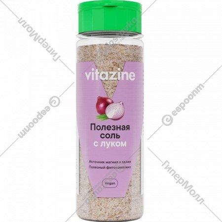 Соль «Vitazine» с луком, 140 г.