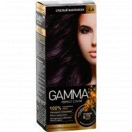 Стойкая крем-краска «Gamma» perfect color, тон 4.6.