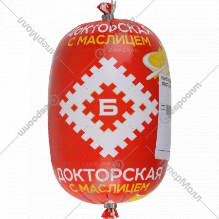 Колбаса вареная «Докторская с маслицем» высшего сорта, 650 г.