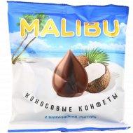 Конфеты кокосовые «Malibu» в шоколадной глазури, 140 г.