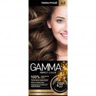 Стойкая крем-краска «Gamma» perfect color, тон 6.0.