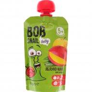 Пюре яблоко-манго «Bob Snail» 90 г