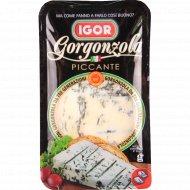 Мягкий сыр «Gorgonzola Piccante» голубой плесенью 48%, 150 г.