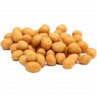 Арахис очищенный небланшированный в кокосовом соке, 1 кг., фасовка 0.35-0.4 кг