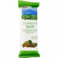Батончик «MD Bar» protein 22%, зеленый чай, 50 г.