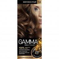 Стойкая крем-краска «Gamma» perfect color, тон 7.0.