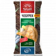 Чебурек жареный «Марьино с курицей, грибами, сыром» 130 г.