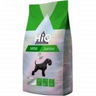 Корм сухой «HiQ Mini Junior» для щенков мелких пород, 400 г.