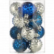 Набор шаров для елки 16 шт,4 см.