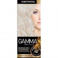 Стойкая крем-краска «Gamma» Perfect Color осветлитель.