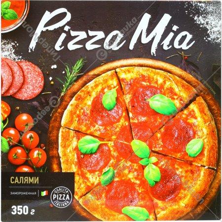 Пицца «Pizza Mia» с салями, 350 г.