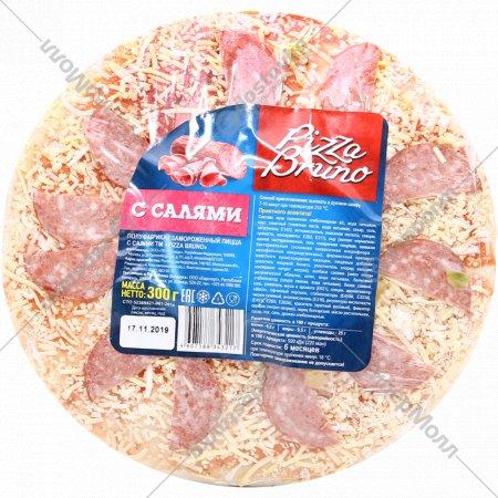 Пицца «Pizza Bruno» с салями, 300 г.