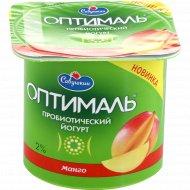 Йогурт «Савушкин» с манго 2 %, 150 г.
