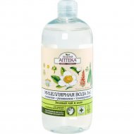 Мицеллярная вода «Зеленая аптека» зеленый чай и алоэ, 500 мл