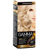Крем-краска для волос «Gamma Perfect Color» cияющий блонд, тон 9.0.