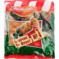 Конфеты неглазированные батончики «Рот Фронт» с орехами, 250 г