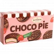 Печенье «Choco Pie» клубника, 132 г.