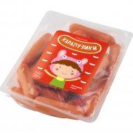 Сосиски варенные «Карапузики» из мяса птицы, 550 г.