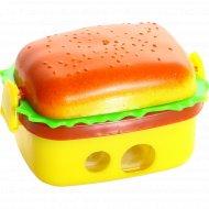 Точилка «Hamburger» с ластиками.