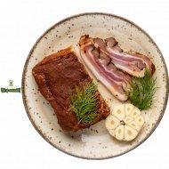 Полуфабрикат мясной «Грудинка соленая