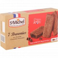 Печенье бисквитное «Brownie» с шоколадом, 210 г