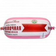 Колбаса вареная «Молочная ароматная» 400 г.