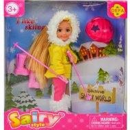 Кукла «Лыжница».