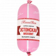 Колбаса вареная «Эстонская мясковит» высшего сорта, 400 г.