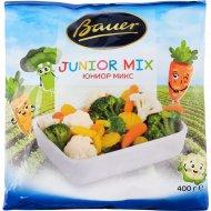 Овощная смесь «Bauer» юниор микс, быстрозамороженная, 400 г