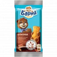 Пирожное бисквитное «Медвежонок Барни» с шоколадной начинкой, 30 г.