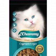 Корм влажный «Chammy» для кошек, курица в соусе, 100 г
