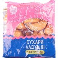 Сухари «Ладушки» с фруктозой, 250 г.
