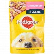 Корм для собак «Pedigree» с ягененком в желе, 100 г.