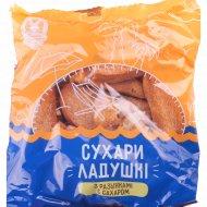 Сухари «Ладушки» с изюмом и сахаром, 250 г.