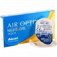 Линзы контактные «Air Optix Night&Day Aqua» r8.6, -5.75.