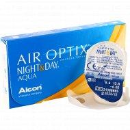 Линзы контактные «Air Optix Night&Day Aqua» r8.6, -6.