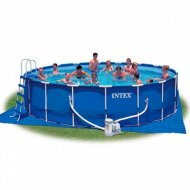Каркасный бассейн «Intex» Metal Frame, 28252/56952