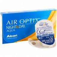 Линзы контактные «Air Optix Night&Day Aqua» r8.6, -6.5.