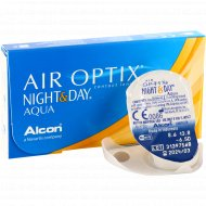 Линзы контактные «Air Optix Night&Day Aqua» r8.6, -6.5.