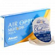 Линзы контактные «Air Optix Night&Day Aqua» r8.6, -7.